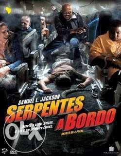 DVD Filme-Serpentes a bordo