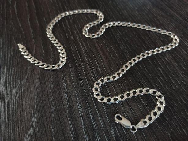 Srebrny PIĘKNY łańcuszek PANCERKA ideał SREBRO 925 Wysyłka
