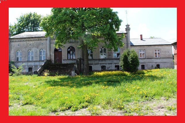 Zespół pałacowo parkowy dworek zabytkowy nieruchomość pałac dom
