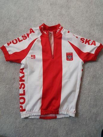 Koszulka rowerowa Polska BCM Nowatex POLSKA 128cm