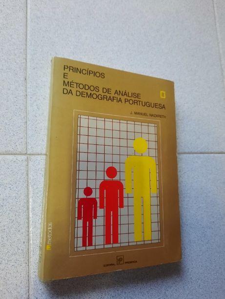 Princípios e Métodos de Análise da Demografia Portuguesa (portes grát