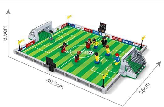 Lego pilka nozna boisko PLUS 8 FIGUREK Siemianowice Śląskie - image 1