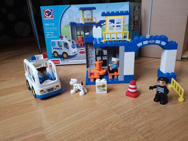 Kids Home Toys Police Station полицейский аналог ЛЕГО дупло LEGO dyplo