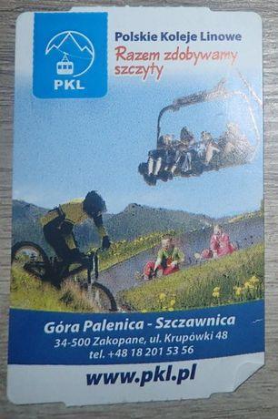 Bilet kolekcjonerski: PKL Góra Palenica - Szczawnica
