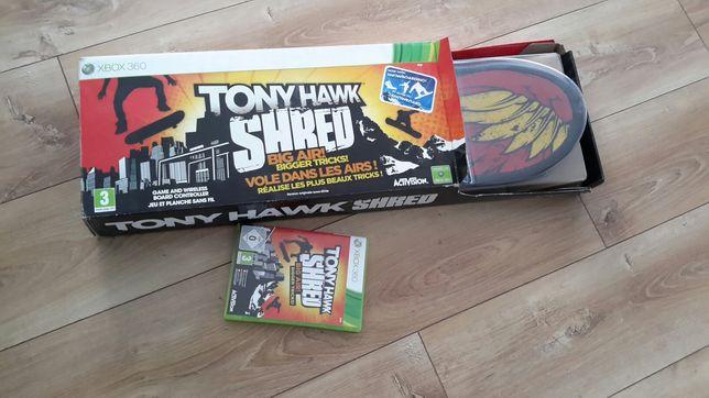Tony Hawk Shred + gra XBOX 360