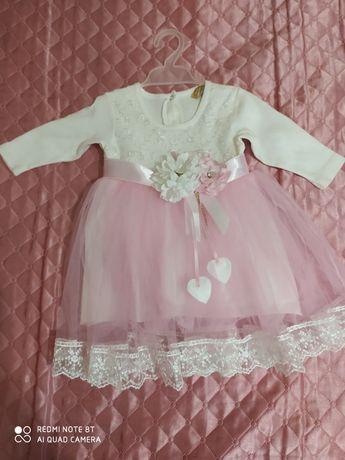 Нарядное платье для вашей малышке