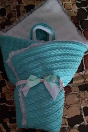 Конверт -одеялко  зимний для выписки