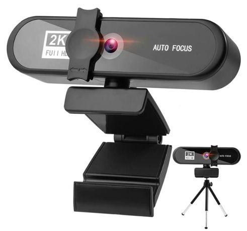 Kamera internetowa 2K Full HD, mikrofon i głośniki