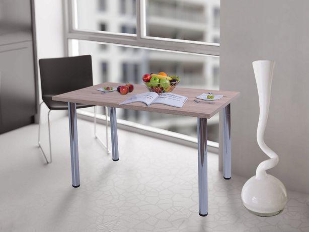 Stół kuchenny 90x50x18 Dąb Sonoma n.chrom Producent PL