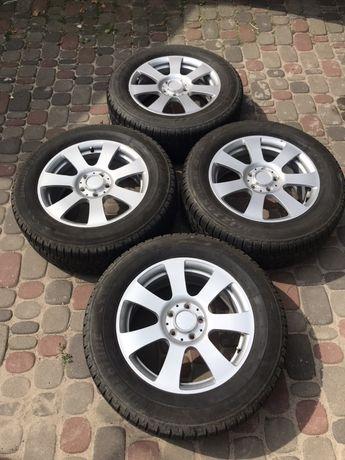 Диски 5/112 R17 Mercedes з резиною 235/60 Bridgestone