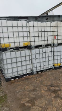 Pojemniki czyste umyte 200l 1000l