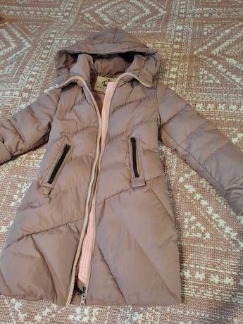 пуховик, куртка, зимняя, пальто р.116