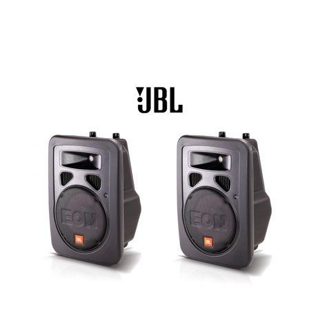 JBL EON 10 G2 - Zestaw Aktywnych Kolumn ze statywami i pokrowcami