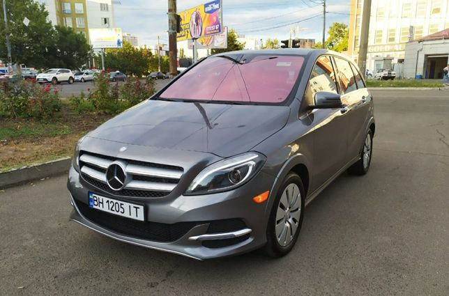 Mersedes B-class Electric drive.