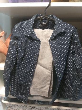 Reserved 116  koszula spodnie
