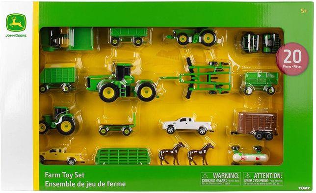 John Deere Оригинал Игровой набор сельскохозяйственной техники ферма