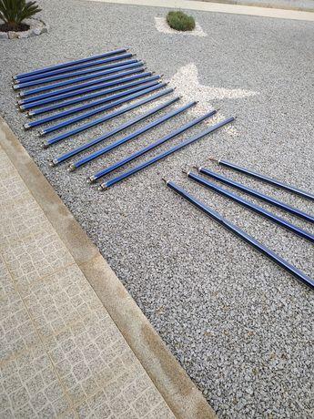 Painel solar tubos de vácuo, colector, tubos de vácuo
