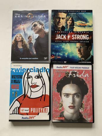 Filmy dvd 4 szt Wszystko o mojej matce, Frida, Jack Strong, Kraina Jut