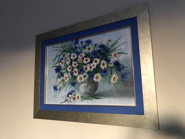 Obrazy wyszywane ręcznie koralikami