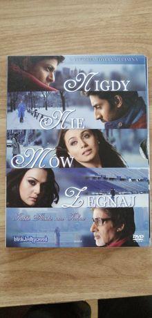 Nigdy nie mów żegnaj Bollywood Shah Rukh Khan Rani Mukherjee DVD