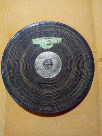 Stary kolekcjonerki dysk lekkoatletyczny 1 kg, PRL