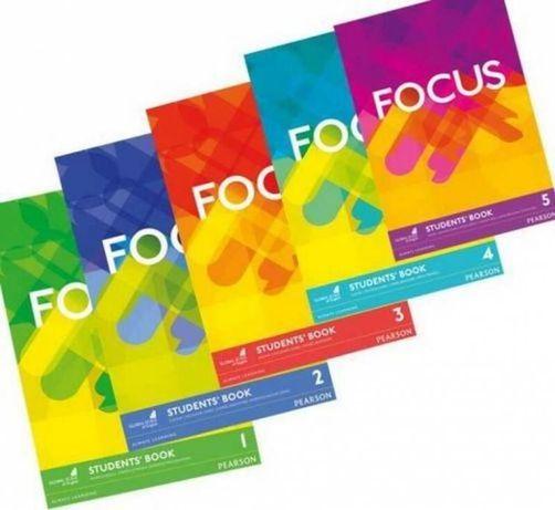 Focus 1, 2, 3, 4, 5 PDF Student Book, Workbook, Teacher's book, CD