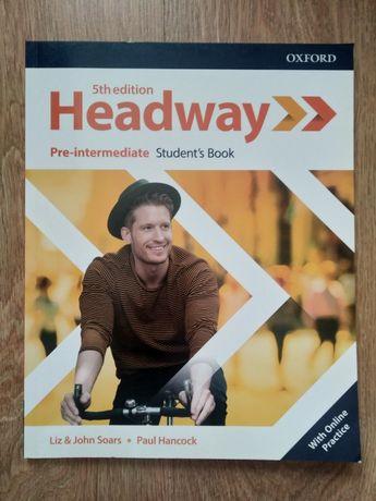 Headway pre-intermediate NOWY podręcznik Student'so book kod 5th editi