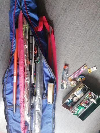Vendo vários tipo de material de pesca novo e usado