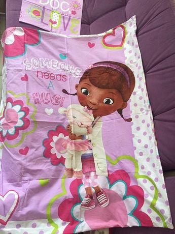 Постельное бельё, постель набор для девочки Доктор Плюшевая Disney