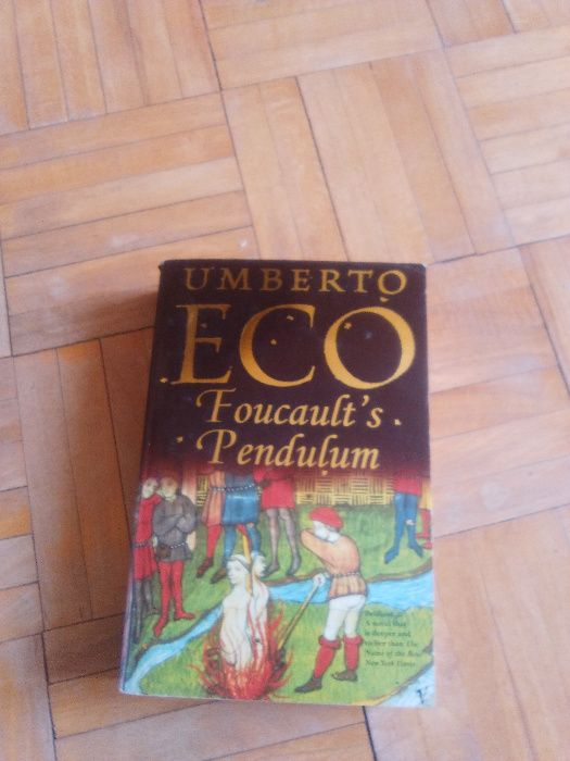 książka foucault's pendulum Lublin - image 1