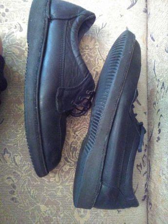 Туфли ботинки мокасины мужские 41-42 кожа Декстер США