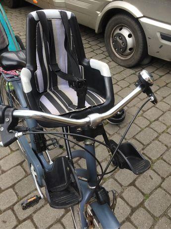 Fotelik rowerowy przód przedni Bobike