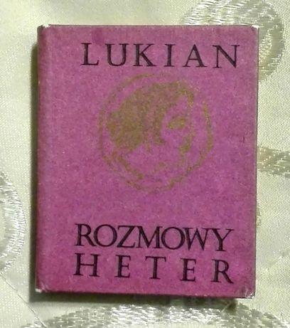 """Rozmowy heter"" Lukian (miniatura)"