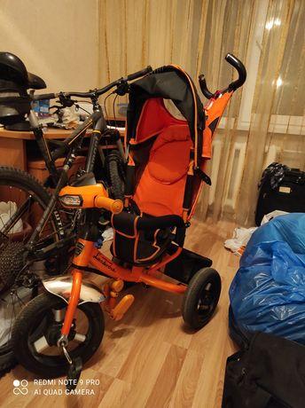 Продам детский трёхколёсный велосипед...на надувных колесах.
