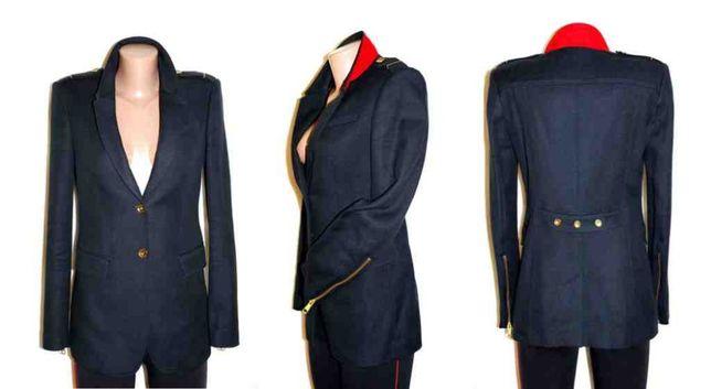 Женский жакет пиджак в стиле милитари Burberry Оригинал 36р рост 170