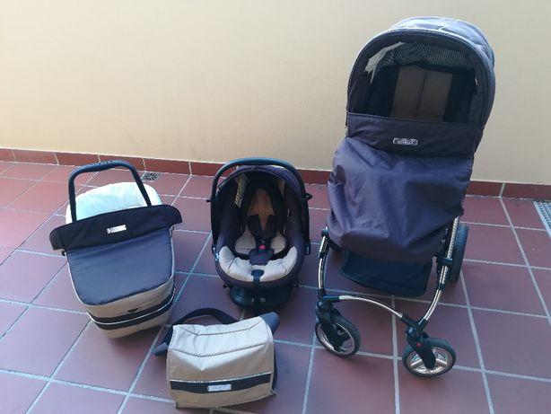 Carrinho bebé trio Bebécar ip op