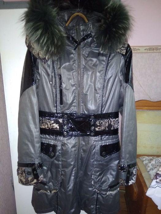 Плащ зимовий на підкладці з нат.хутра Дрогобыч - изображение 1