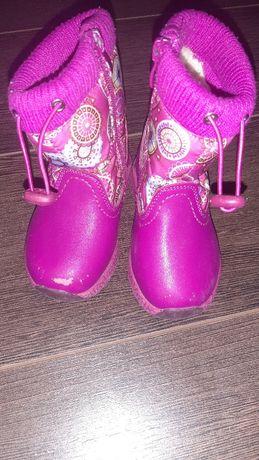 Зимние ботинки J&G для девочки 23 размер