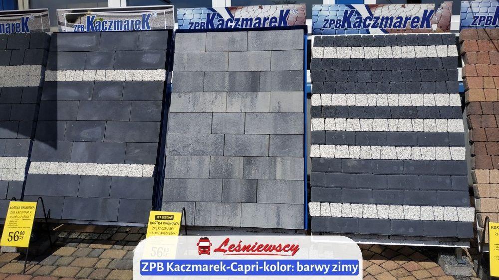 Kostka brukowa betonowa ZPB Kaczmarek Capri-BARWY ZIMY 7cm na podjazd