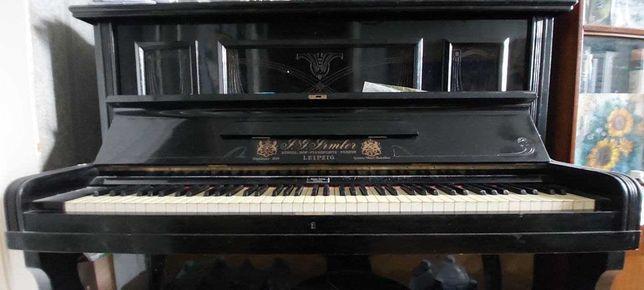 Довоенное пианино J.G. Jrmler