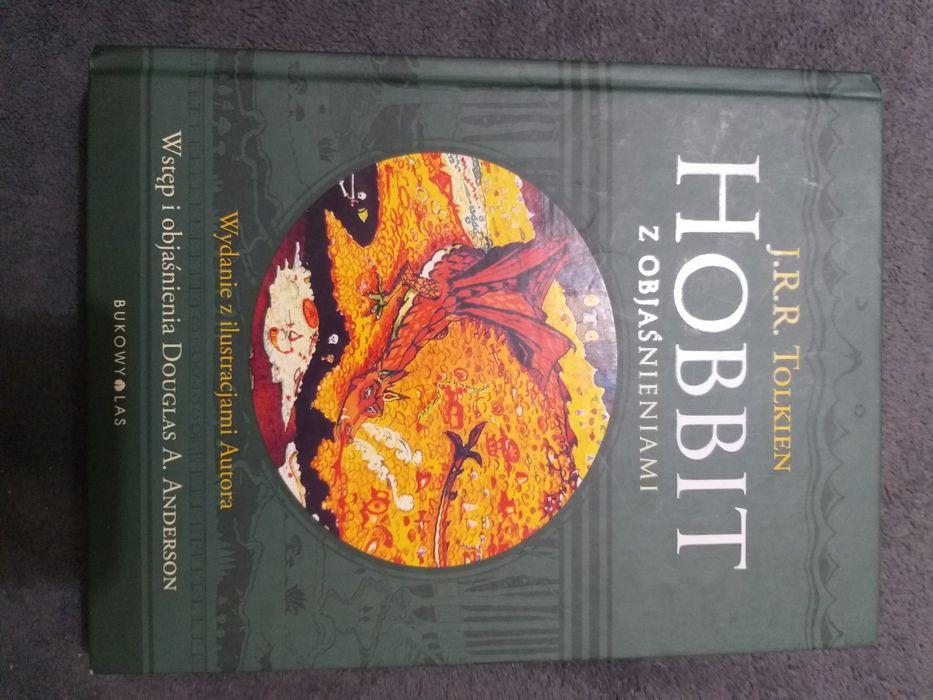 Hobbit z objaśnieniami J.R.R. Tolkien 432 strony twarda oprawa Piaseczno - image 1