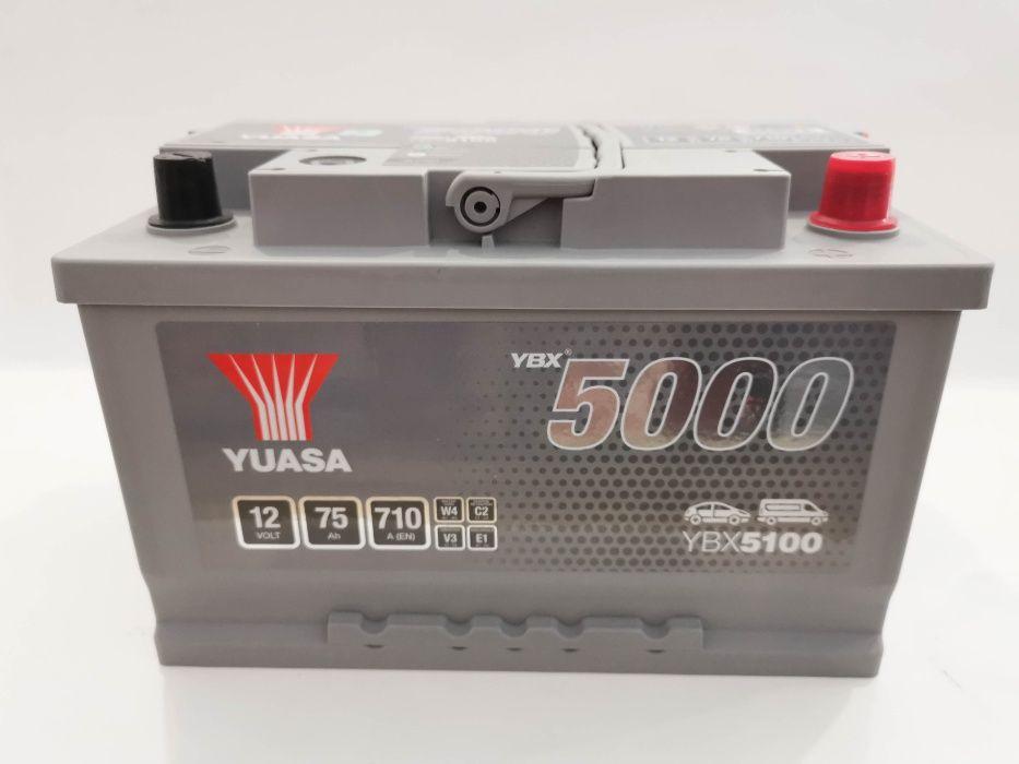 Akumulator YUASA YBX5100 75Ah 710A Promocja!!!
