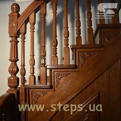 Дерев'яні сходи / Лестницы