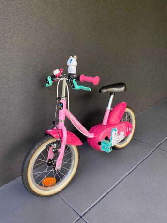 Rower dziecięcy Btwin 500 Jednorożec 14 cali