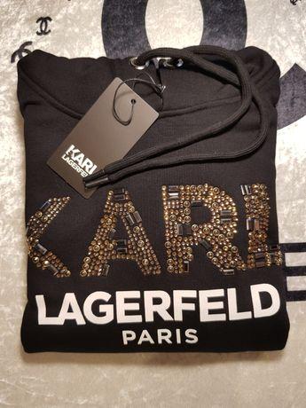Bluza z kapturem Karl Lagerfeld damska
