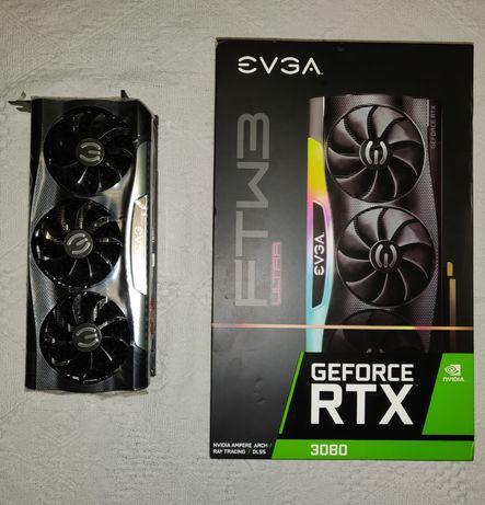 Rtx 3080 10gb. GDDR6x EVGA FTW3 Ultra Gaming видеокарта