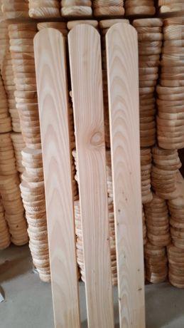 Sztachety modrzewiowe 1m 1,2m 1,5m