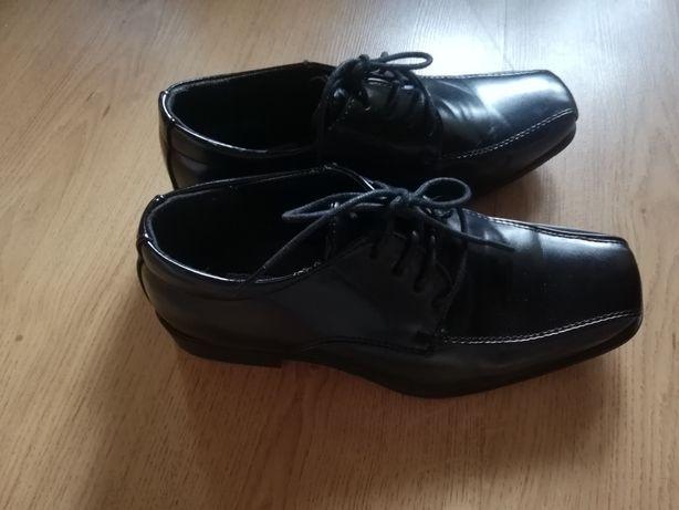 Półbuty buty wizytowe komunijne 34