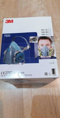 Półmaska maska ochronna lakiernicza 3M 7500 rozmiar L (7503)