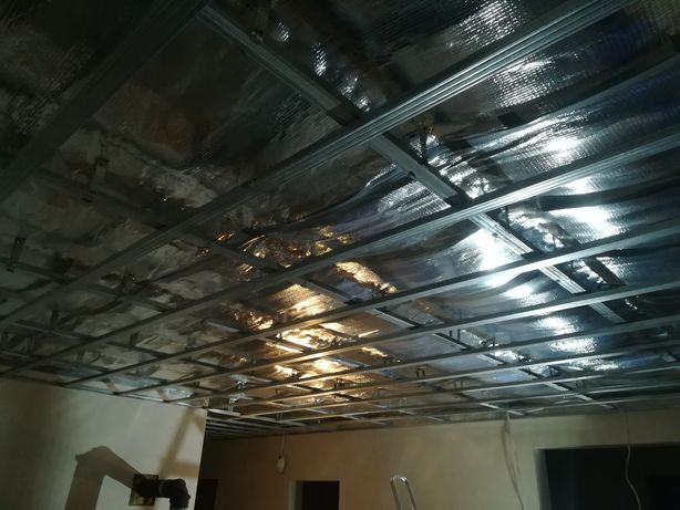 Usługi budowlane sufity podwieszane
